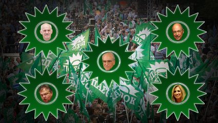 Υπερτιτάνιο κουίζ: Ποιος αρχηγός του ΠΑΣΟΚ είσαι;