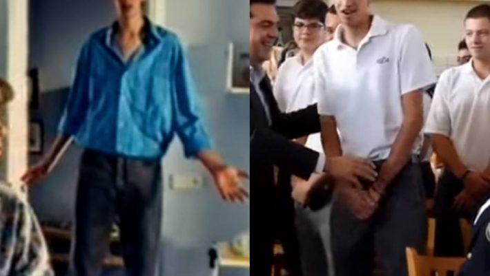 Σε ποια διαφήμιση έπαιζε ο μαθητής που δεν έδωσε το χέρι στον Τσίπρα; (Vid)
