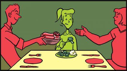 5 πράγματα που μας τη σπάνε στους χορτοφάγους