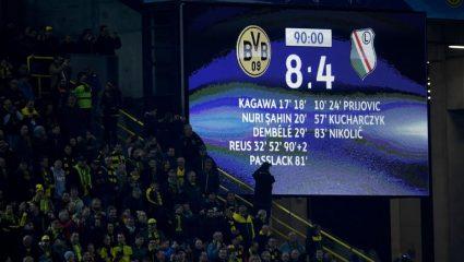Ντόρτμουντ-Λέγκια 4-6 γκολ: Κράτησε όσο το σεξ