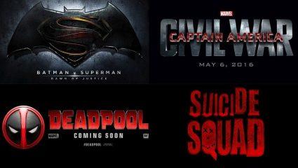 Οι superhero ταινίες του 2016 από τη χειρότερη στην καλύτερη