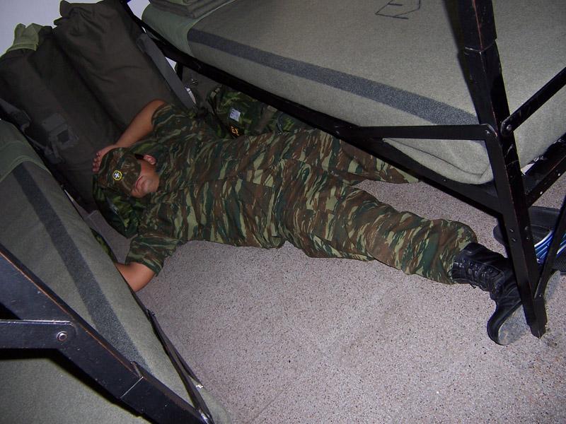 Η χειρότερη με διαφορά ώρα για σκοπιά στον στρατό