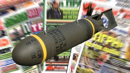 Τα πρωτοσέλιδα των αθλητικών εφημερίδων για τη βόμβα στο Κορδελιό