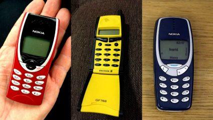 Τα 10 καλύτερα κινητά τηλέφωνα των '90s βάζουν τα γυαλιά στα σημερινά (Pics)