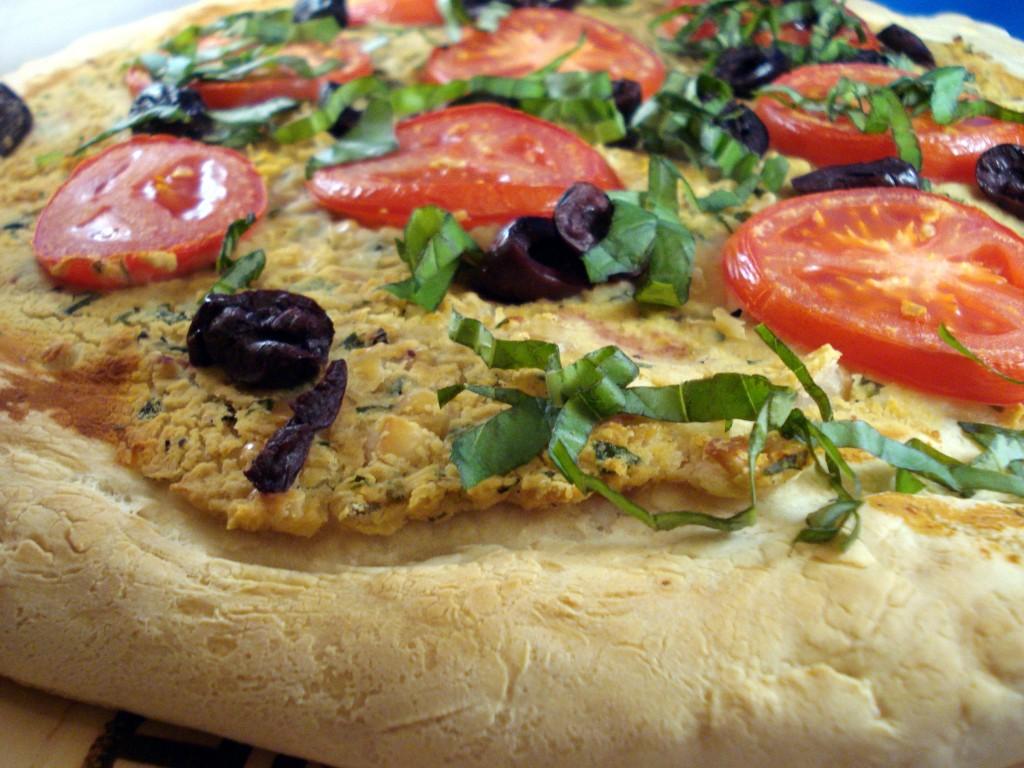 Τη βίγκαν πίτσα θα την ξαναβρίσεις, τη βίγκαν πίτσα
