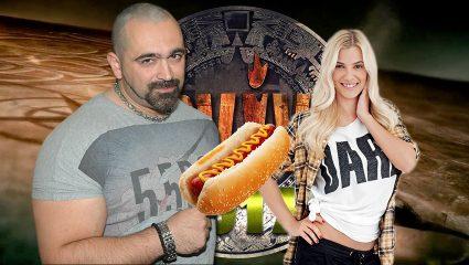 Όταν η Λάουρα Νάργες τόλμησε να κλέψει τα hot dogs του Bo (vid)