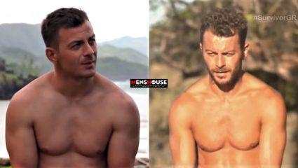 Καρέ – καρέ! Πώς «ξεφούσκωσε» ο Ντάνος τις 7 εβδομάδες πείνας στο Survivor (Pics)