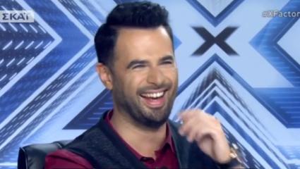 Θεούλης τραγουδάει «Θέλω να φάω» στο X-Factor και κάνει τους κριτές να γονατίσουν και να του πουν «ναι» (Vid)