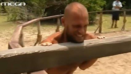 Ακόμη πιο δύσκολο: Τι είχε συμβεί στο αγώνισμα δύναμης του πρώτου Survivor το 2004 (Vid)