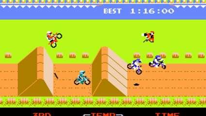 Το Excitebike ήταν το απόλυτο παιχνίδι της Πρώτης Εποχής