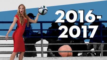 Ανασκόπηση της ποδοσφαιρικής σεζόν 2016-2017 από τη Σάρα Εσκενάζυ