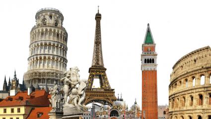 Κουίζ για αυθεντίες: Σου δίνουμε 10 πόλεις, μπορείς σε 5' να βρεις σε ποια χώρα της Ευρώπης βρίσκονται;