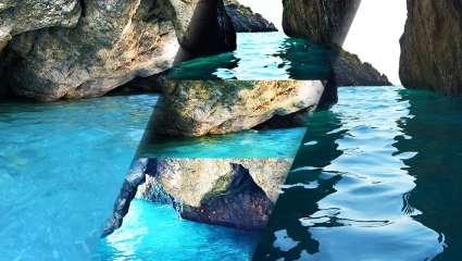 Η «φονική» παραλία με τις σπηλιές και τα πράσινα νερά που δε μπορείς να μην ερωτευτείς (Pics)
