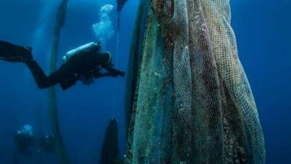 Ghost Fishing: Το κυνήγι «θαλάσσιων φαντασμάτων» ήρθε και στην Ελλάδα