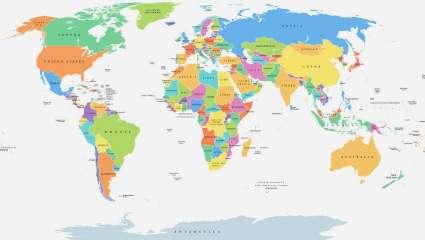 Κουίζ κόντρας στη γεωγραφία: Μπορείς να βρεις σε ποια Ήπειρο βρίσκονται 10 χώρες πιο γρήγορα από τον κολλητό σου;
