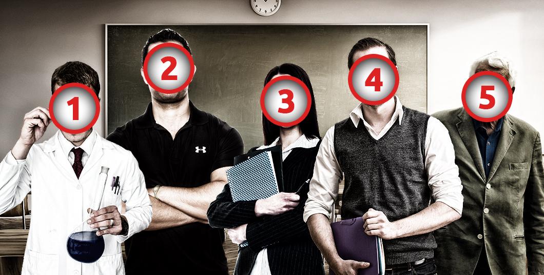 Ένας φόνος στο σχολείο, δύο σφαίρες και πέντε ύποπτοι! Μπορείς να βρεις τον δολοφόνο;