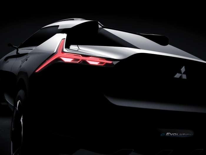 Αυτό είναι το Mitsubishi E-VΟ του μέλλοντος