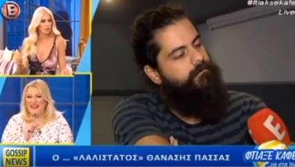 Έπος: Ο Πασσάς φεύγει on air μόλις μαθαίνει ότι μιλάει στην εκπομπή της Καινούργιου (Vid)