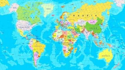 Κουίζ γεωγραφίας: Μπορείς να βρεις τις 10 χώρες στο χάρτη που κανείς δεν έχει καταφέρει έως σήμερα;