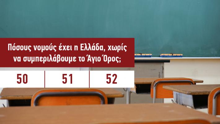 Πάνω από 13/15 κανείς: Αν απαντήσεις σωστά σε 15 τρίβιαλ ερωτήσεις γνώσεων τότε έχεις το υψηλότερο IQ της παρέας