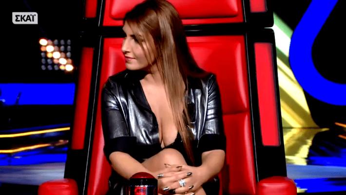 Δεν ξεχνιέται: Όταν το νέο μπούστο της Έλενας Παπαρίζου μάγεψε το «The Voice» (Pics)