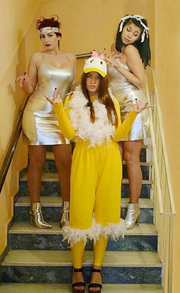 Το τερμάτισαν: Τολμηρές κυρίες ντύθηκαν στο καρναβάλι «Πατ Κιουτ» και… σάρωσαν (Pic)