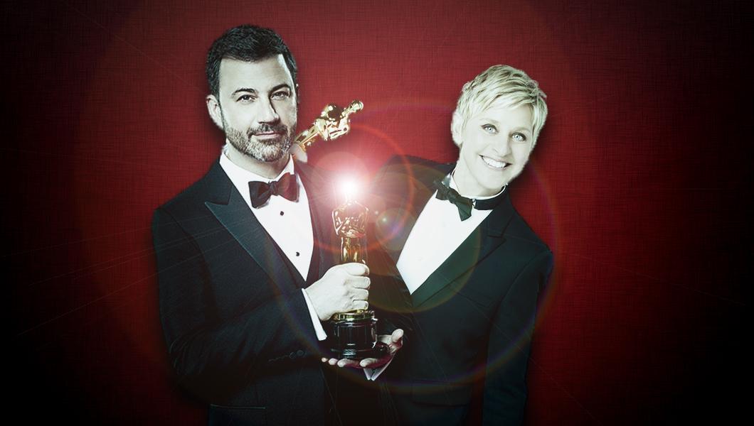 Kimmel ή DeGeneres; Οι καλύτεροι παρουσιαστές Oscar την τελευταία 10ετία