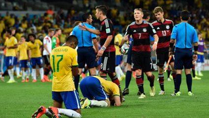 5 πιο σοκαριστικά αποτελέσματα από το Βραζιλία – Γερμανία 1-7