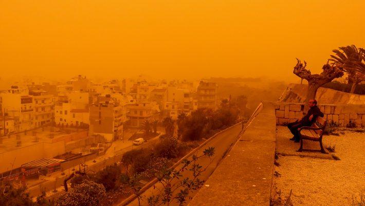 Πώς θα είναι η Ελλάδα μετά το πέρασμα της αφρικανικής σκόνης (Pics)