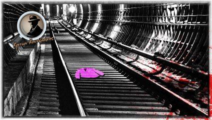 Το φουξ σακάκι στις ράγες του μετρό