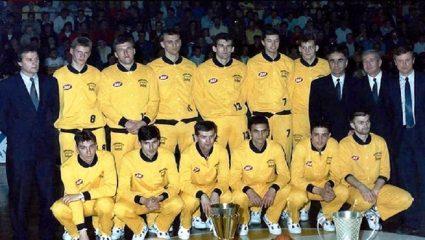 Η κορυφαία ομάδα που γνώρισε ποτέ το ευρωπαϊκό μπάσκετ (Pics & Vid)