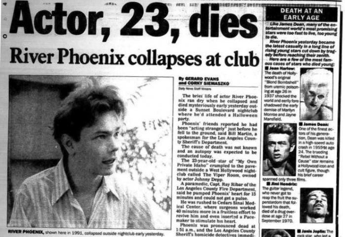 «Stand by me»: Ο τραγικός θάνατος του πιτσιρικά που θα κατακτούσε το Χόλιγουντ, στο μπαρ του Τζόνι Ντεπ (Pics)