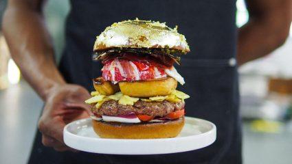 Αυστηρά για κοιλιόδουλους: Εσύ πόσα θα πλήρωνες για το πιο ακριβό burger του κόσμου; (Pics)