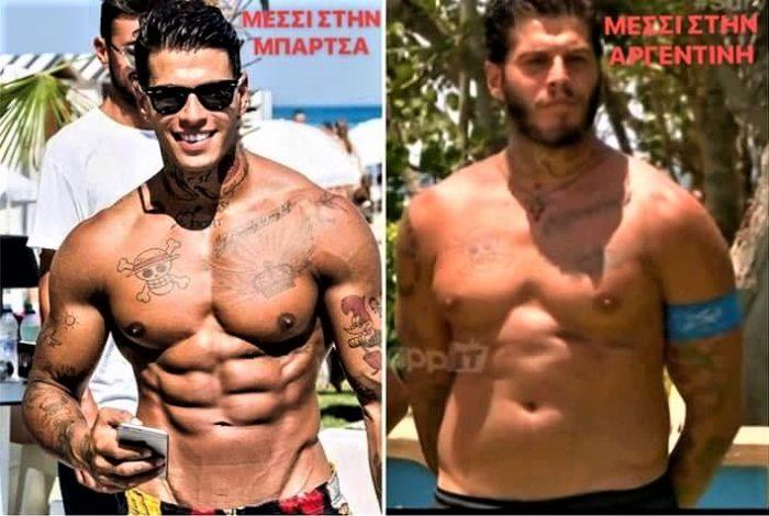 Ξεπέρασε και τη Σπυροπούλου: Η εντυπωσιακή αλλαγή στο σώμα του Αγόρου μέσα σε 5 μήνες (Pics)