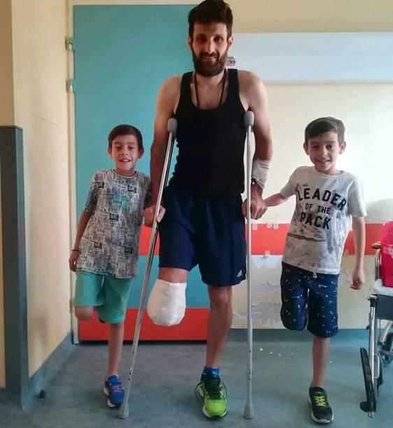 Τάσος Κουρδής: Έχασε ένα πόδι, αλλά κέρδισε για μια νέα ζωή