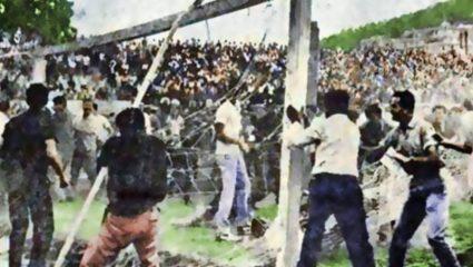 Η μέρα που ενώθηκαν οπαδοί Παναθηναϊκού και Ολυμπιακού κι έκαψαν τη Λεωφόρο