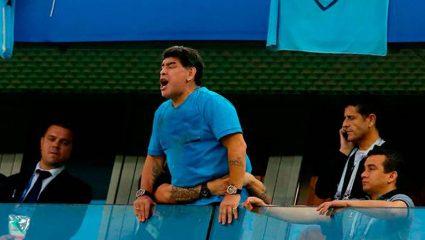 Το 90λεπτο του Ντιέγκο: Όλες οι αντιδράσεις του Μαραντόνα κατά τη διάρκεια του Αργεντινή – Γαλλία (Pics)