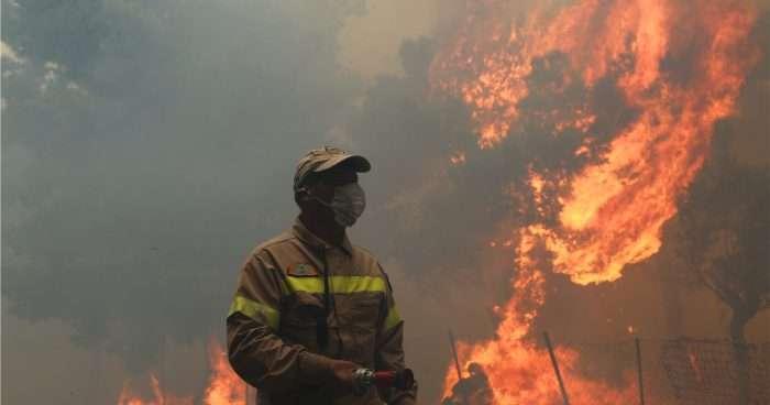 «Εγώ έβαλα την πυρκαγιά στο Μάτι, φίλε»