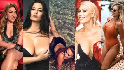 10 χυμώδεις γυναίκες: Ψήφισε την Ελληνίδα με τις ωραιότερες καμπύλες για το 2018 (Pics)