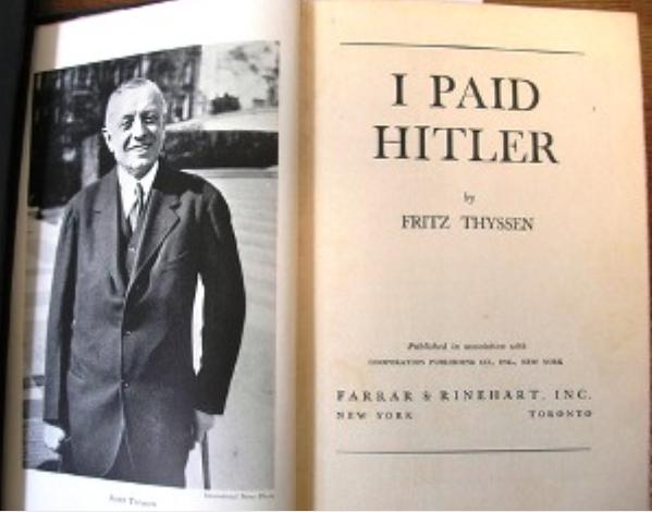 «Τον βοηθούσε να κατακτήσει τον κόσμο»: Ο κρυφός χρηματοδότης του Χίτλερ ήταν πρόεδρος της Αμερικής
