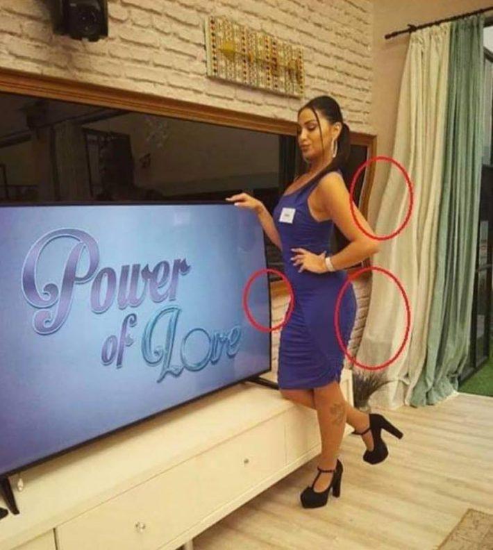 Η γκάφα της χρονιάς: Το αποτυχημένο φώτοσοπ της Ρένιας του Power of Love που έγραψε ιστορία (Pic)