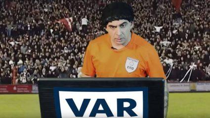 Τι απέγινε ο πρώτος Έλληνας διαιτητής που έκανε χρήση του VAR (Vid)