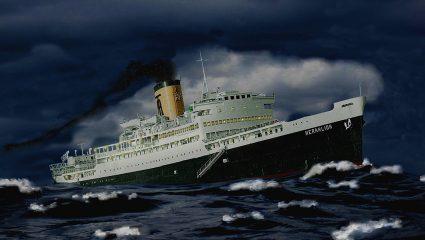 «Μην το αφήσεις να μπει, θα πνιγούμε»: Το λάθος που βύθισε το πιο γρήγορο ελληνικό πλοίο (Pics)