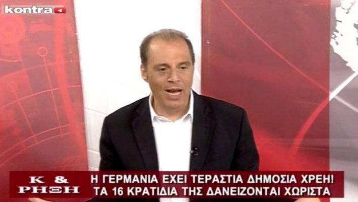 Ο Βελόπουλος αξίζει μια θέση στη σημερινή Βουλή