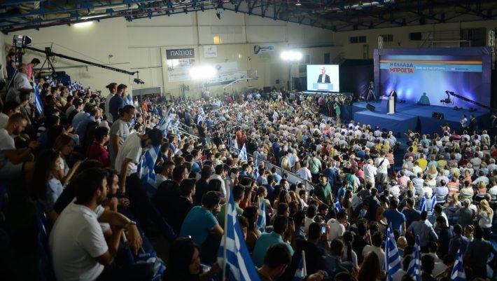 Πέρασε ΝΔ και ΠΑΣΟΚ: Το κόμμα-φούσκα που στην πρώτη δημοσκόπηση πήρε 24%