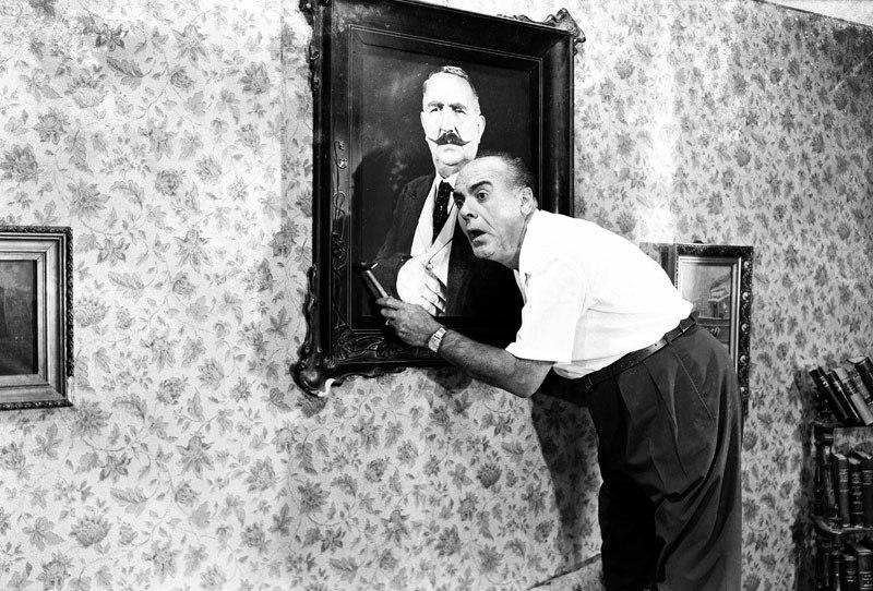 Το «μυστικό» του Φίνου: Ποιος ήταν ο άνδρας - μυστήριο στο πορτραίτο που εμφανίστηκε σε δεκάδες ταινίες (Pics)