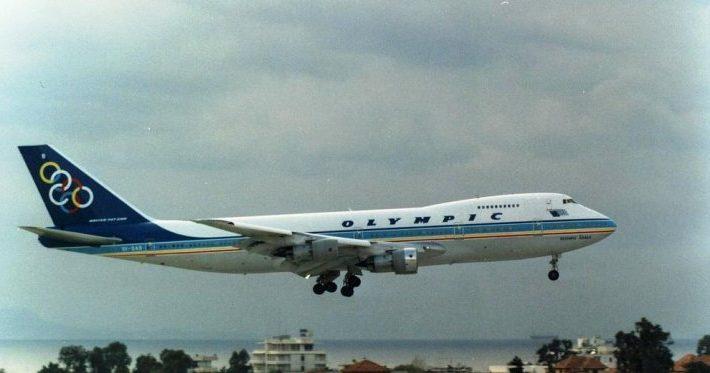 Boeing 747-200, Olympic Airways