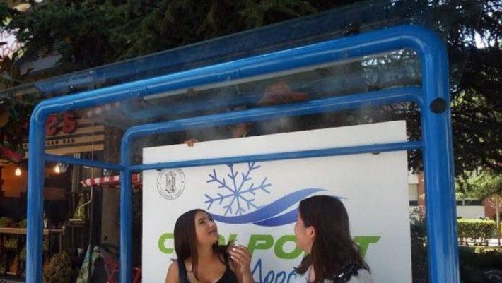100 χρόνια μπροστά: Η πόλη που με 300 ευρώ έλυσε το πρόβλημα της ζέστης στις στάσεις λεωφορείου (Vid)