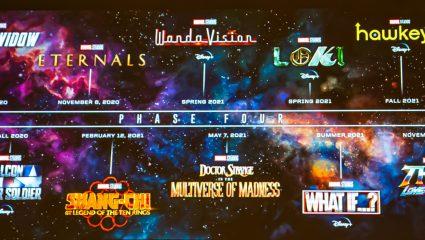 Η Marvel «τάραξε» το κοινό στην Comic Con – Όλες οι σειρές και ταινίες που έρχονται από το 2020