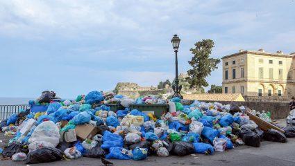Το πρόβλημα με τα σκουπίδια στην Κέρκυρα φανερώνει όλη τη σάπια νοοτροπία της πολιτικής σκηνής